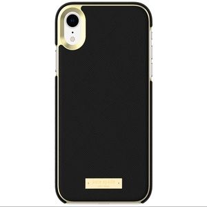Kate Spade Black & Gold iPhone XR Case